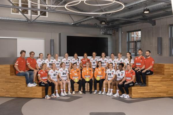 Teamfotos HBF2 2021/22 - HSV Solingen-Gräfrath