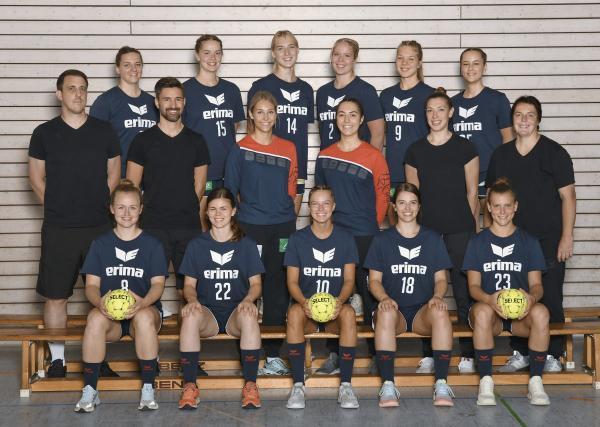Teamfotos HBF2 2021/22 - SG H2Ku Herrenberg