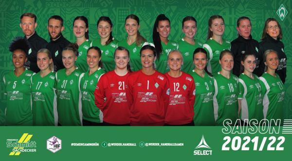 Teamfotos HBF2 2021/22 - SV Werder Bremen