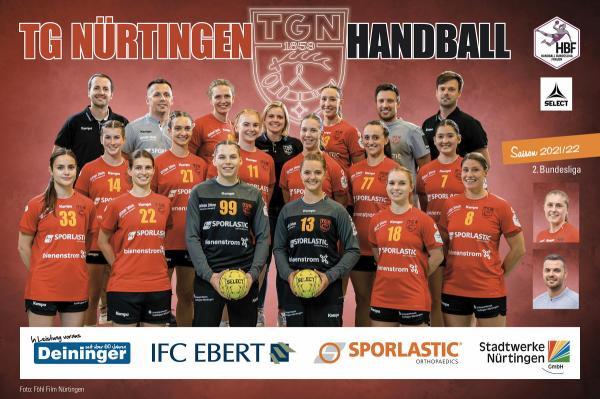 Teamfotos HBF2 2021/22 - TG Nürtingen