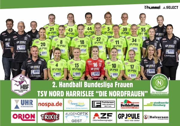 Teamfotos HBF2 2021/22 - TSV Nord Harrislee