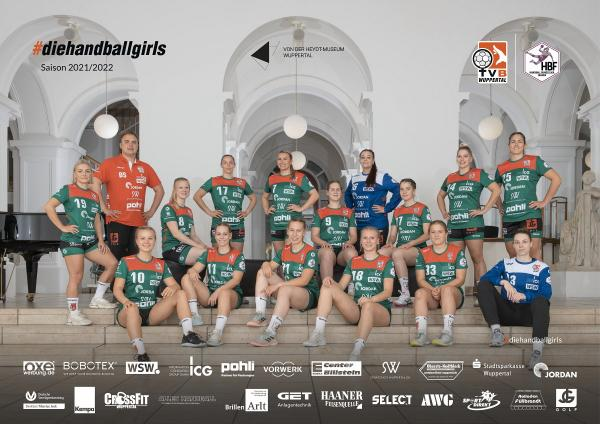 Teamfotos HBF2 2021/22 - TVB Wuppertal