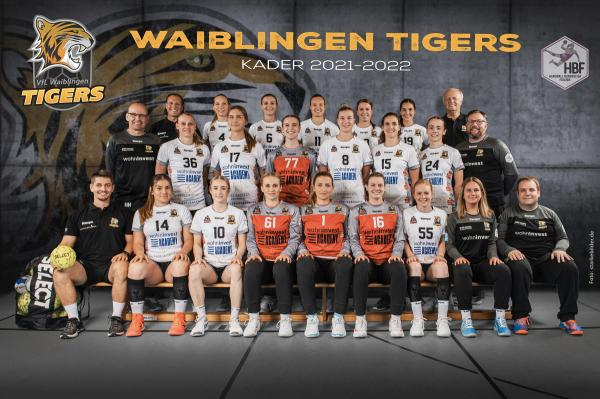 Teamfotos HBF2 2021/22 - Vfl Waiblingen
