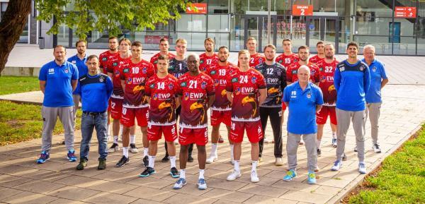 1. VfL Potsdam Mannschaftsfoto Teamfoto 21/22