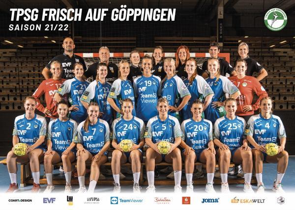 Teamfotos HBF 2021/22 - Frisch Auf Göppingen